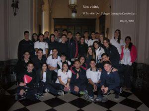 1. Visita Colegio Luterano Concordia (05-06-15)