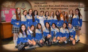 4. Colegio San José, Hnas. Dominicas (23-10-2015)
