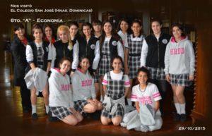 5. Colegio San José, Hnas. Dominicas (29-10-2015)