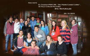 6. IPEM Dr. Pedro Cande Carro (29-10-2015)